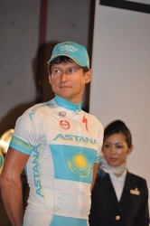 Andrey Mizurov, Kazakh national road race champion  (image courtesy of Miwako Sasachini)