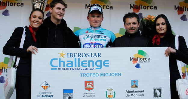 Andy Fenn was on the podium twice in Mallorca (image courtesy of official team website