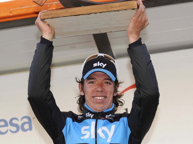 Rigoberto Uran (image courtesy of Sky Procycling website)