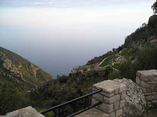 he view from the summit of Col d'Eze (image courtesy of Eze Tourist Office)