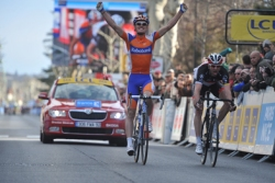 Luis Leon Sanchez wins stage 6 Paris-Nice (image courtesy of Paris-Nice website)
