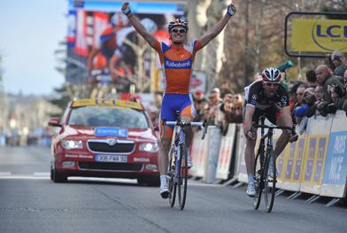 Luis Leon Sanchez wins stage 6 Paris-Nice (image courtesy of Paris-Nice website)
