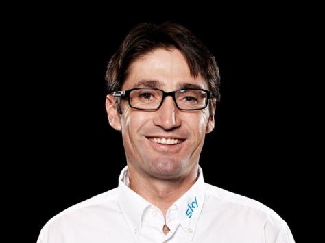 Bobby Jullich Sky Pro Cycling Team Race Coach (image courtesy of Sky)