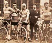 Basque cyclists