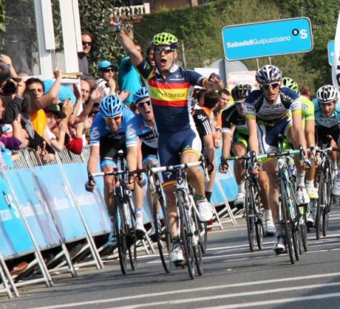 Jose Joaquin Rojas stage 1 winner (image courtesy of Susi Goertze)