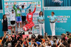 Jersey winners at 2011 Tour of Turkey (image courtesy of offical race website)