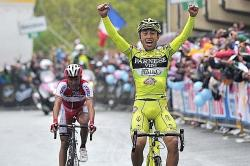Heroic victory for Matteo Rabottini on stage 15 (image courtesy of official race website)