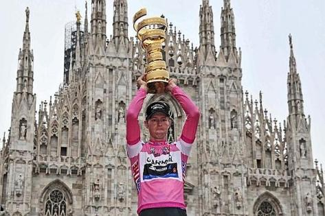 Hesjedal showed all the qualities which made him champion last year (Image: Giro website)