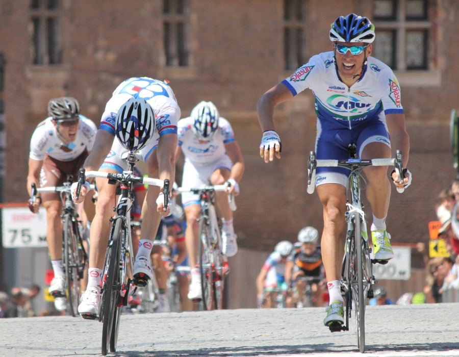 Stage one winner Stephane Poulhies (image courtesy of official race website)