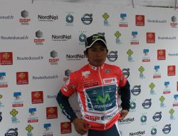 Nairo Quintano overall winner (image courtesy of official race website)