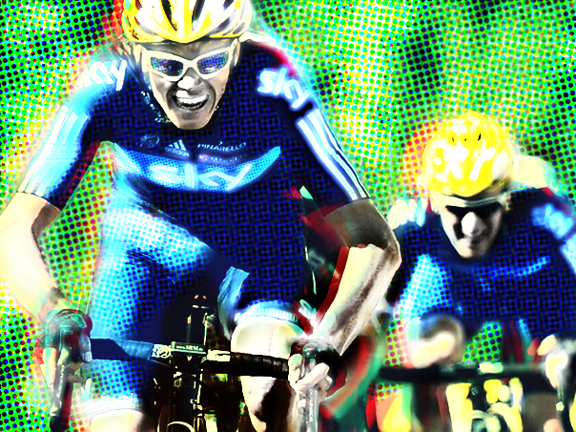 Froome will want to prove he's worthy to be team leader (image by Panache/ccarls1)