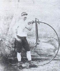 """James Moore """"Cycling Superstar"""" (image courtesy of Cycling Archives)"""