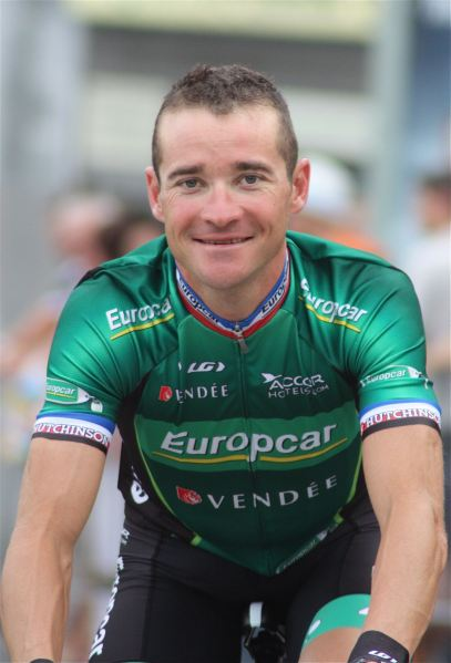 Will Voeckler seek to swap Europcar green for polka dots once again? (Image: Danielle Haex)