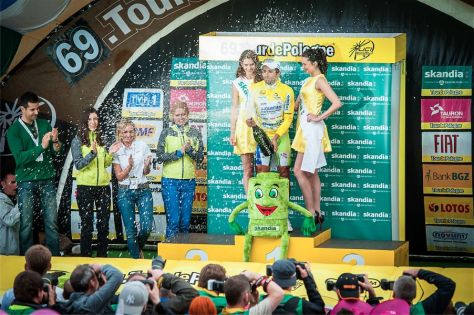 Moreno Moser winner of Tour de Pologne 2012 (image courtesy of official race website)