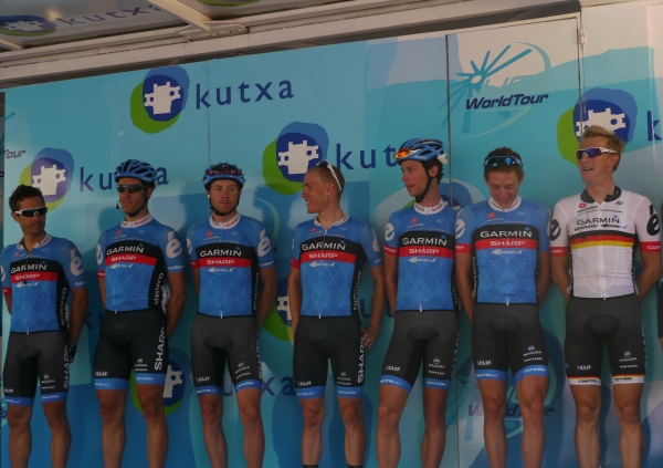 Clasica San Sebastian 2012: Garmin Sharp including fellow-Brummer Dan Martin
