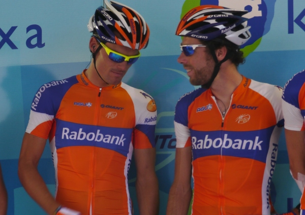 Clasica San Sebastian 2012: what's the 2010 champion LL Cool J Sanchez showing to Laurens Caveman Ten Dam?