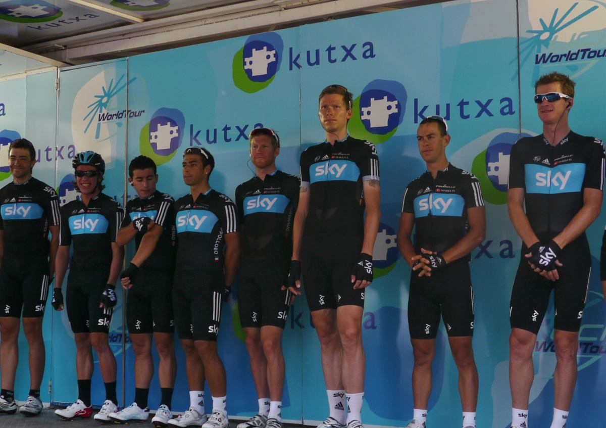 Clasica San Sebastian 2012 Team Sky: The long and the short of it!