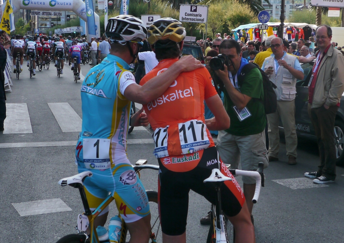 Clasica San Sebastian 2012: Current and former Olympic road race champions
