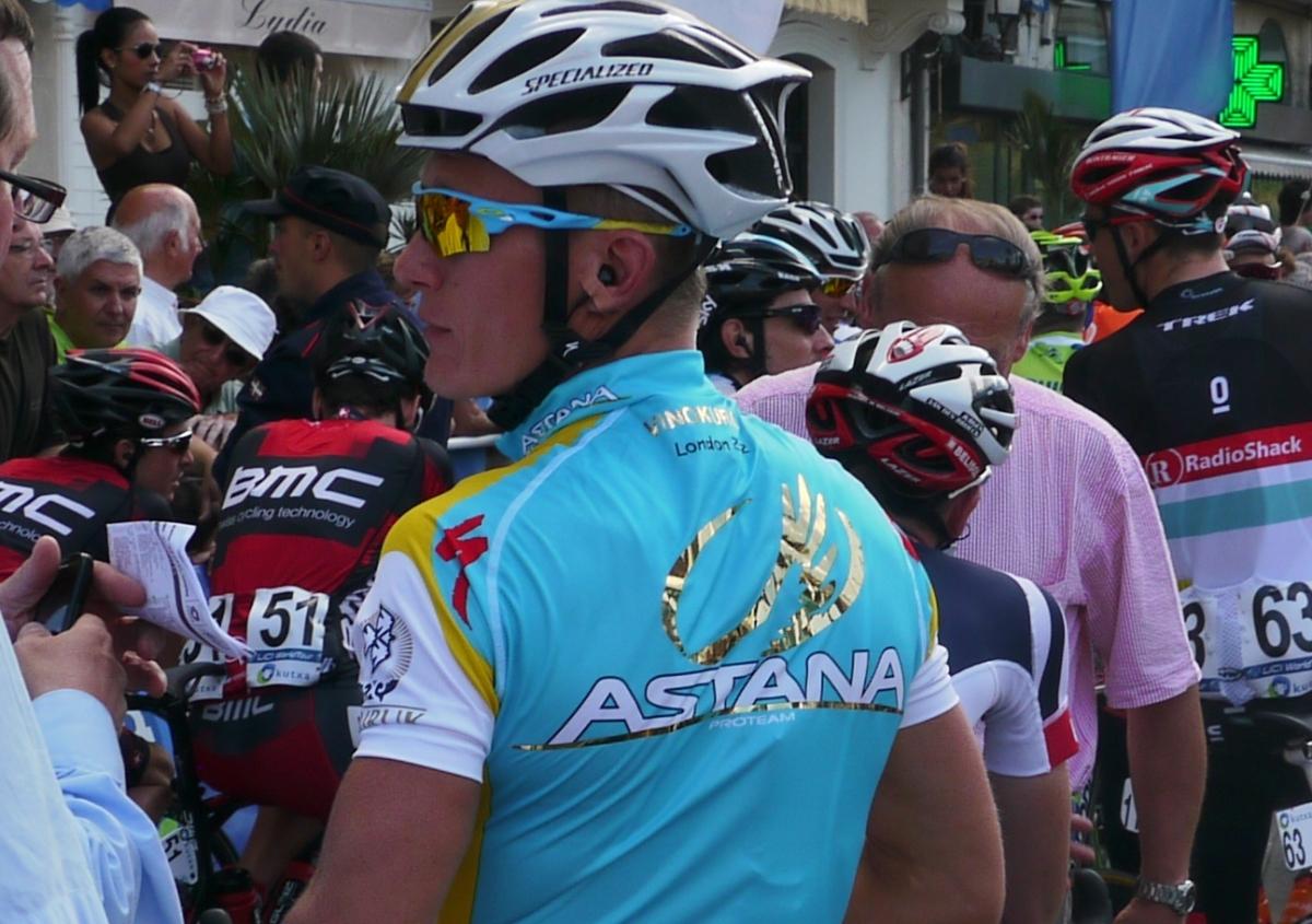 Clasica San Sebastian 2012: Alex's blinged up shirt