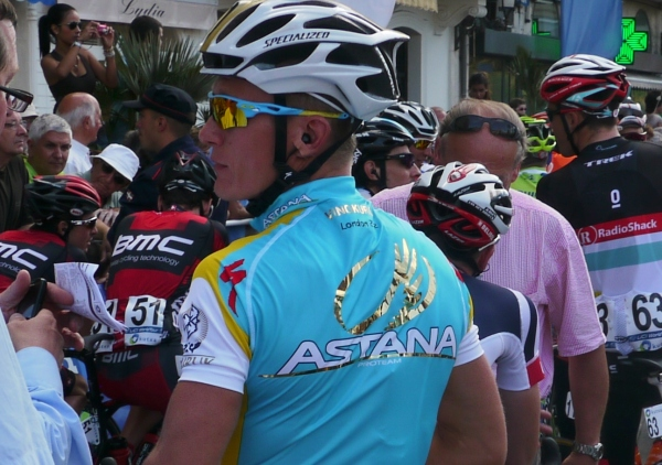 Clasica San Sebastian 2012: Alex's blinged up shirt