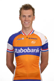 Boom finished second on the final stage, but first overall (Image: Rabobank)