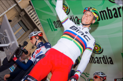 PhilGil is still chasing his maiden win in the rainbow jersey (image: Davide Calabresi)