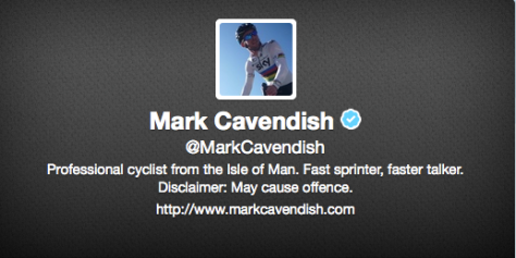 Wish 6: Riders! Twitter is fun! Really! Come on - Cav is doing it!