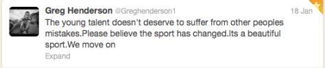 Henderson statement