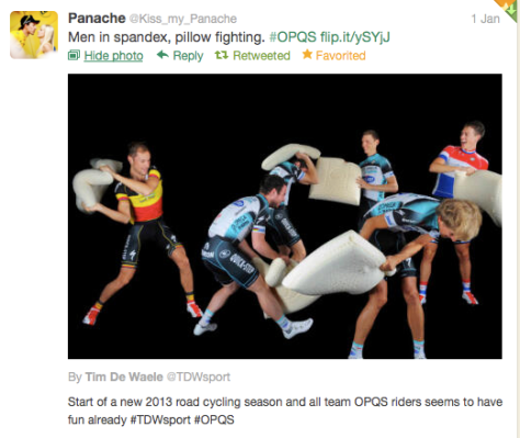 OPQS pillow fight