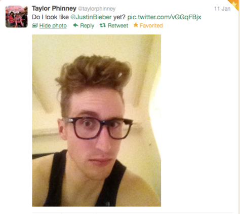Phinney Beiber yet?