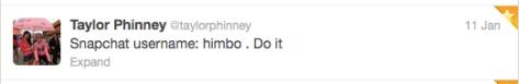Phinney snapshot username