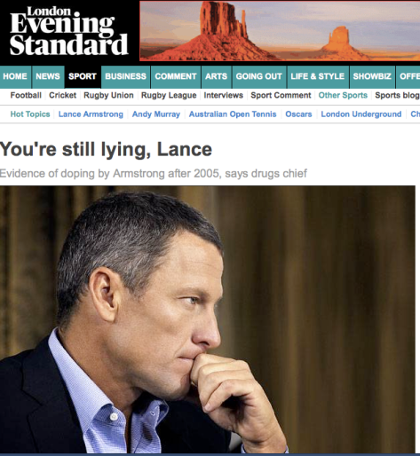 Lance Evening Standard
