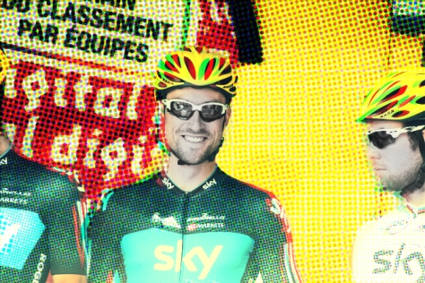Was this picture prophetic in seeing the split between Bernie and Cav? (Image courtesy of Danielle Haex)