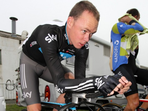 Froome is one of several Sky riders to celebrate a birthday this month (image: Sky)