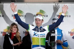 He wins again! (image courtesy of Orica-GreenEDGE)