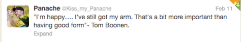 Oman Boonen still have arm