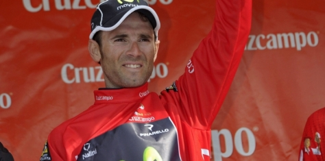 Valverde, victorious again in Ruta del Sol (image courtesy of Movistar)