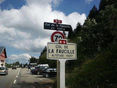 Col de la Faucille will shake and bake the team (image courtesy of Wikipedia)