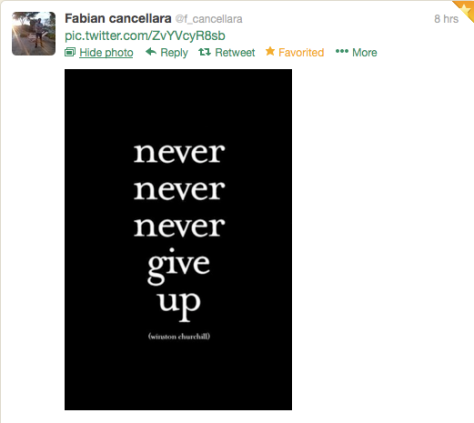 Fabs never give up