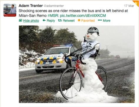 Twits snowman