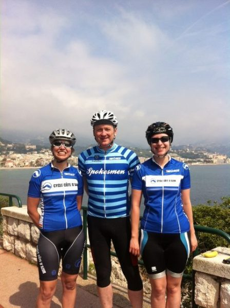 David looking relaxed (image: Cycle Cote d'Azur)