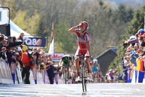 Joaquim Rodriguez takes the win in 2012 (image: official website)