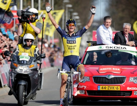 Kreuziger upset the odds to take the win (image: official website)