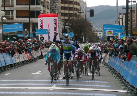 That man Impey's won the second stage two years in a row!