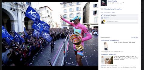 Giro Nibali win
