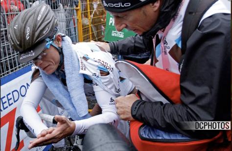 Giro Stage 14 aftermath 1 CREDIT DAVIDE CALABRESI