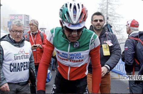Giro Stage 14 aftermath 3 CREDIT DAVIDE CALABRESI