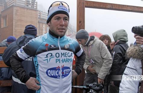Giro Stage 14 Cav CREDIT DAVIDE CALABRESI