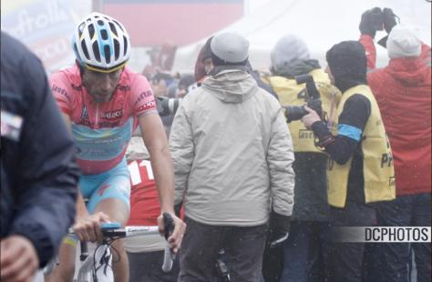 Giro Stage 14 Nibali after stage CREDIT DAVIDE CALABRESI