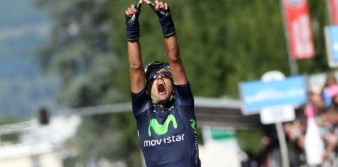 We were all pleasantly surprised by Movistar's haul of four stage wins (Image: Movistar)
